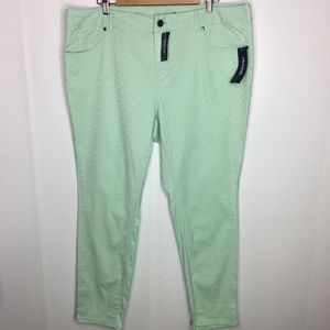 Eloquii by The Limited Green Jeans Pants Size 18W